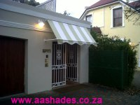 Deco Wedge Awning